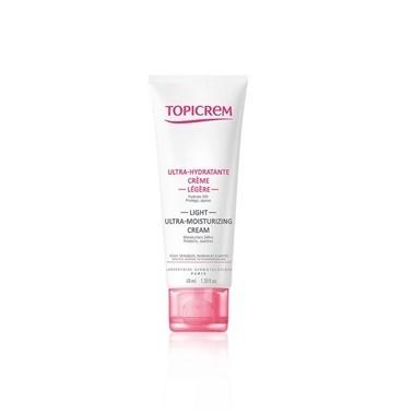 Topicrem Ultra Moisturizing Face Light Cream 40ml Renksiz